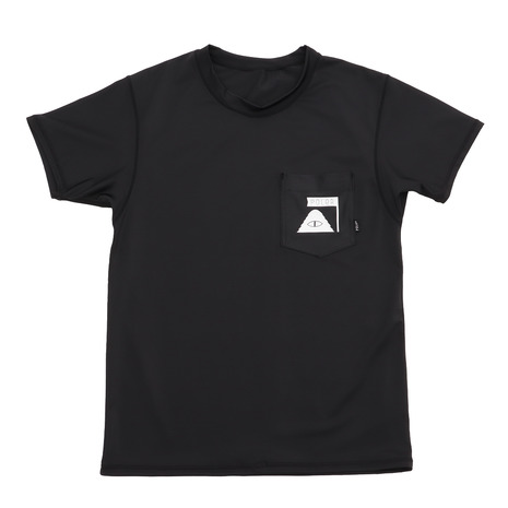 POLER 半袖ラッシュガード SUMMIT RUSH GUARD S/S TEE 55500001-BLK (Men's)