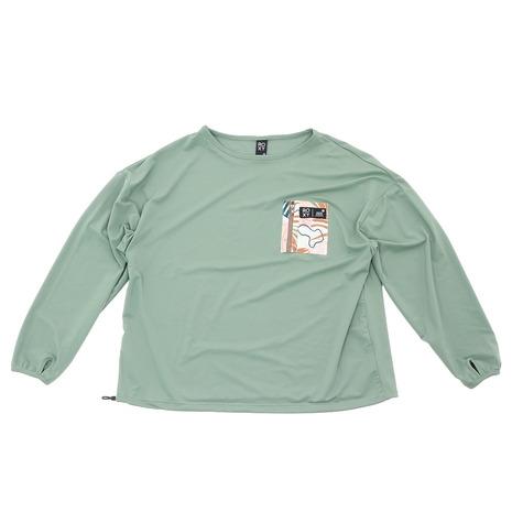 ロキシー(ROXY) ICEBERG 水陸両用 UVカット ラッシュ Tシャツ RLY212043DGN (レディース)