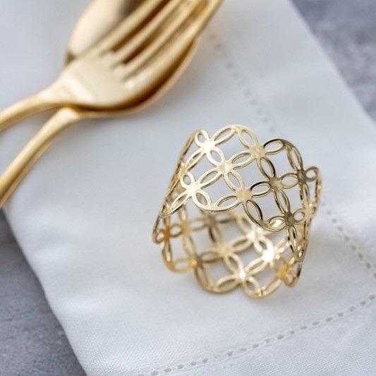 ヴィクトリアデザインはギフト用の食器やテーブルウェア 雑貨の専門店です ナプキンリング ゴールド シルバー 好評受付中 銀 シッポウナプキンリング おしゃれ 金 現金特価