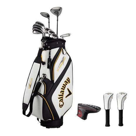 キャロウェイ(CALLAWAY) ゴルフクラブセットWARBIRD SET 19 (10本セット、W1、W5、I5~I9、PW、SW、PT) スチール (Men's)