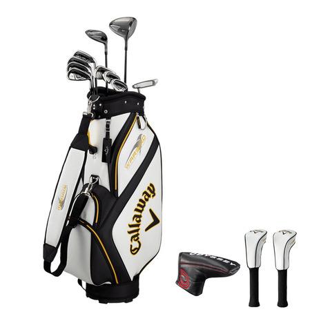 キャロウェイ(CALLAWAY) 初心者 ゴルフクラブセットwarbird ゴルフクラブセット SET 19 (10本セット、W1、W5、I5?I9、PW、SW、PT)カーボン (メンズ)