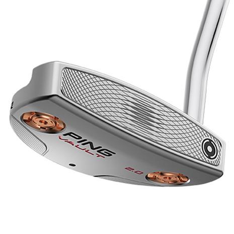 ゴルフ用品 ゴルフ 小物 お値打ち価格で ヴィクトリアゴルフ おすすめ ピン PING ヴォルト ヘッド重量:375g プラチナム グリップ:PP58ブラック パイパー メンズ 登場大人気アイテム カッパー パター 2.0