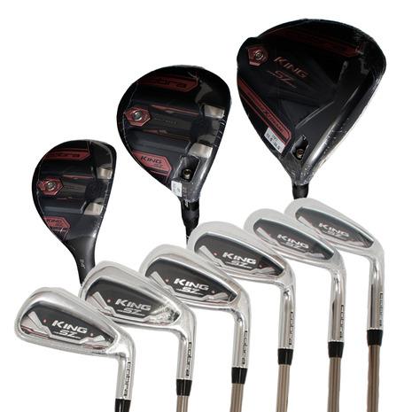 ゴルフクラブ おすすめ レディース ヴィクトリアゴルフ コブラ(Cobra) 初心者 レディース ゴルフクラブKING SPEEDZONE フルセット 8本(1W、5W、5H、7I~9I、PW、SW)UST Helium 4 (レディース)