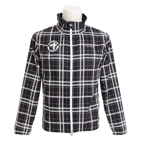 フィドラ(FIDRA) ゴルフウェア アウター チェックフルジップジャケット FDA0101-NVY (メンズ) (Men's)