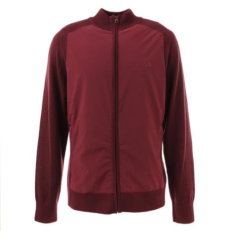 Jリンドバーグ(J.LINDEBERG) ゴルフウェア メンズ Knitted Hybrid ジャケット 071-58010-068 (Men's)