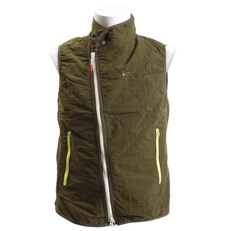 ロサーセン(ROSASEN) ゴルフウェア メンズ ベスト スラッシュZipカバー キルト軽量ベスト 044-48970-027 (Men's)