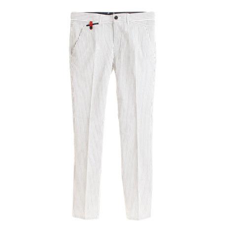 セントアンドリュース(ST.ANDREWS) ゴルフウェア メンズ WHサッカーストライプストレッチパンツ 042-9131453-120 (Men's)