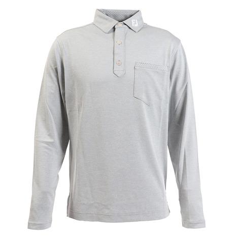 フットジョイ(FOOT JOY) 長袖サーモライトチェストポケットシャツ FJ-F19-S14 83046 (Men's)