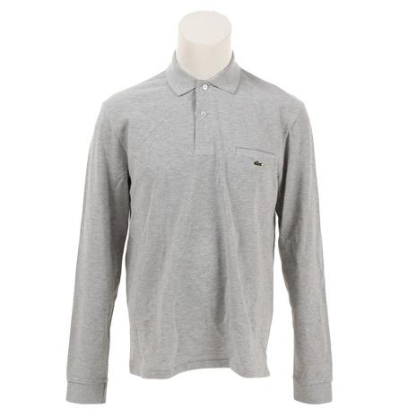 ラコステ(LACOSTE) ゴルフウェア メンズ  ポイントストライプ 長袖ポロシャツ PH0118L-WS8 (Men's)