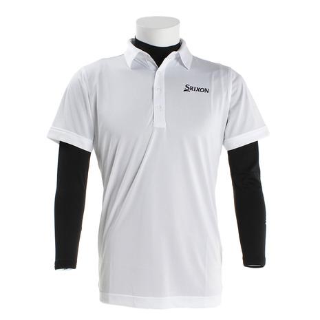 ダンロップ(DUNLOP) インナー付セットシャツ RGMMJA07W-WH00 (Men's)