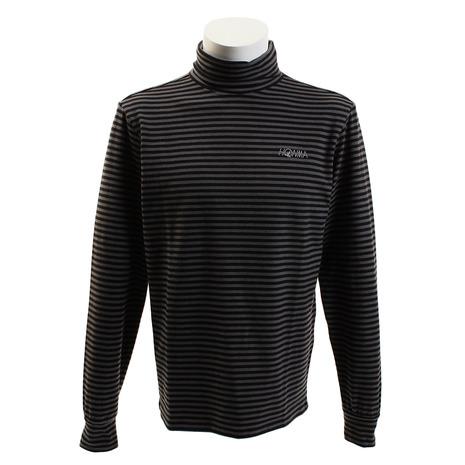 ホンマゴルフ(HONMA) ボーダータートルシャツ 751-419104 BK (Men's)