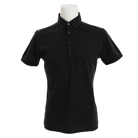テーラーメイド(TAYLORMADE) ブレスウールボタンダウン ポロシャツ KL898-N64898 (Men's)