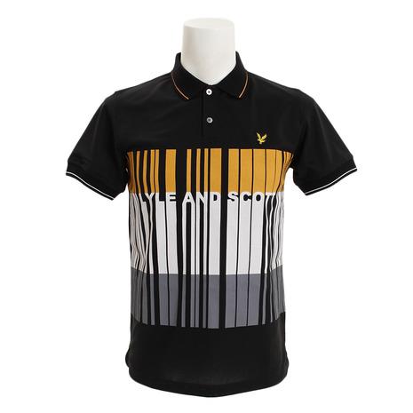 【買いまわりでポイント最大10倍!】ライルアンドスコット(LYLESCOTT) ゴルフウェア メンズ 半袖ポロシャツ LG-18S-P02-BLACK (Men's)