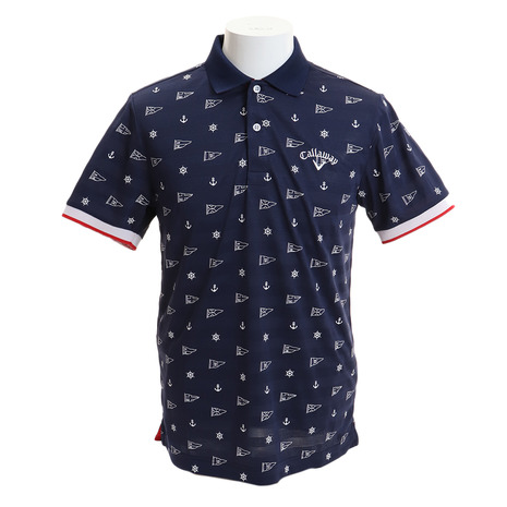キャロウェイ(CALLAWAY) ゴルフウェア メンズ モノグラムプリント ポロシャツ241-9151521-120 ゴルフウェア メンズ (Men's) (Men's), 勝山町:9db0c441 --- sunward.msk.ru