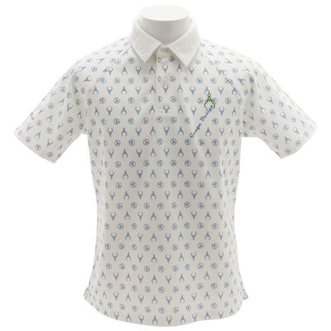 ゲージデザイン(Gauge Design) ドライミックス 鹿の子 30/1 ポロシャツ 091-27341-04 (Men's)
