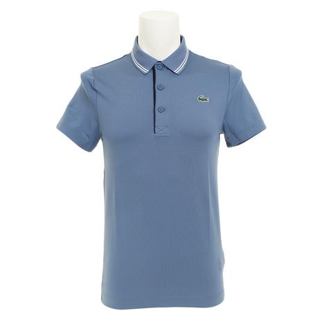 ラコステ(LACOSTE) レタリング ゴルフウェア メンズ レタリング ストレッチテクニカルジャージー ゴルフ メンズ ポロシャツ DH3360L-6R2 DH3360L-6R2 (Men's), おかべ水産:05574f1a --- sunward.msk.ru