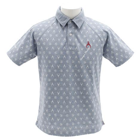 ゲージデザイン(Gauge Design) ドライミックス 鹿の子 30/1 ポロシャツ 091-27341-96 (Men's)