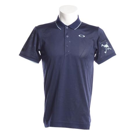 オークリー(OAKLEY) スカル BREATHEABLE 半袖ポロシャツ 434176JP-67Z (Men's)