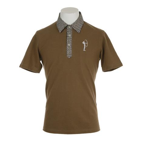 フィドラ(FIDRA) 半袖花柄ポロシャツ FV57LG09 BEG (Men's)