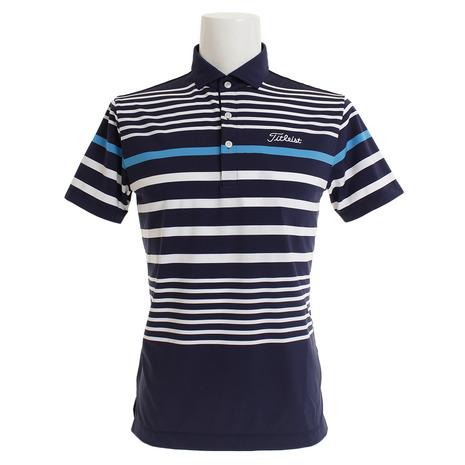 タイトリスト(TITLEIST) (Men's) ゴルフウェア メンズ TSMC1914NV ゴルフウェア マルチボーダースムースシャツ TSMC1914NV (Men's), スニーカー 坊主:d3b78a3e --- sunward.msk.ru