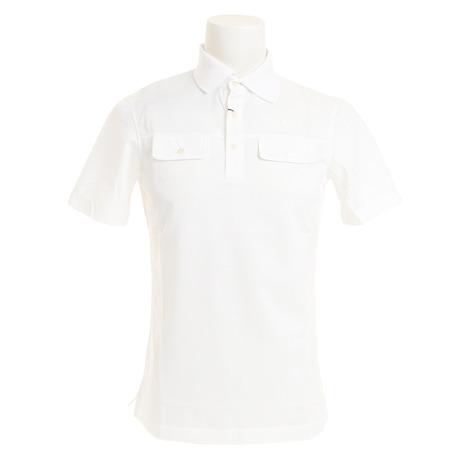 フィドラ(FIDRA) ゴルフウェア メンズ TC半袖ポロシャツ FV51TG03WH T (Men's)