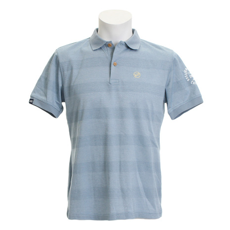 ロサーセン(ROSASEN) ゴルフウェア メンズ (Men's) メンズ ポップコーンボーダーポロ ゴルフウェア 044-29542-096 (Men's), 生野町:4246eb5c --- sunward.msk.ru