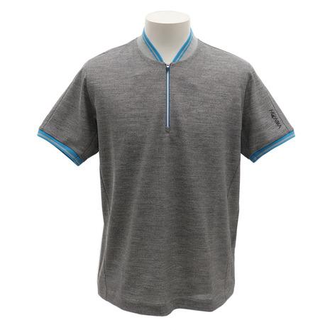 ホンマゴルフ(HONMA) ゴルフウェア メンズ ジップアップ半袖シャツ 931-731112WH (Men's)