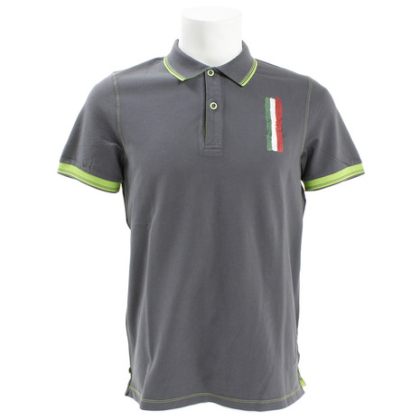 DIMATTIA ゴルフウェア メンズ POLO MM Piquet DM31JG01 D.GRN (Men's)