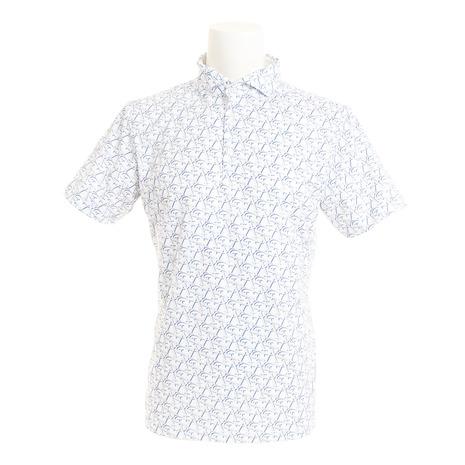 セントアンドリュース(ST.ANDREWS) White (Men's) Label COOL STAプリントシャツ White 042-9160457-030 COOL (Men's), エンガルチョウ:7fcf6599 --- sunward.msk.ru