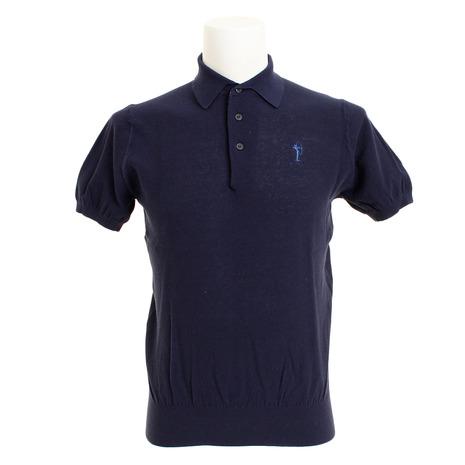 フィドラ(FIDRA) 半袖ニットポロシャツ FV51TG01NVY (Men's)