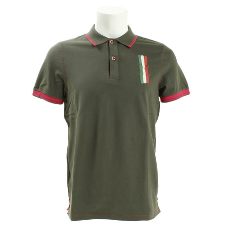 DIMATTIA ゴルフウェア メンズ POLO MM Piquet DM31JG01 KHA (Men's)