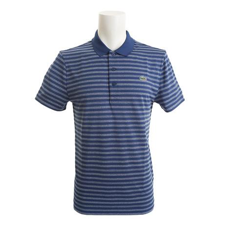 ラコステ(LACOSTE) ボーダーポロシャツ DH2100-LUT (Men's)