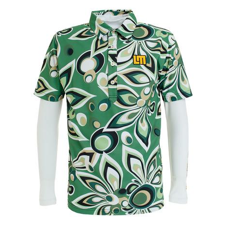 【買いまわりでポイント最大10倍!】ラウドマウス(LOUDMOUTH) ゴルフウェア メンズ 半袖 ポロシャツ 779502-225 (Men's)