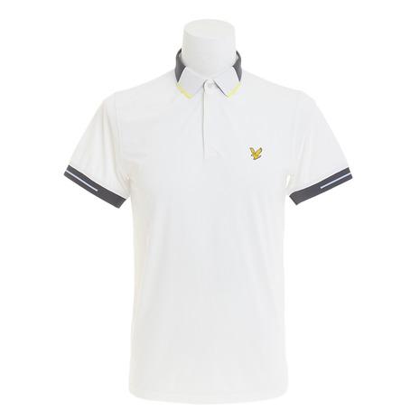 ライルアンドスコット(LYLE&SCOTT) 半袖ポロシャツ LG-18S-P05-WHITE (Men's)