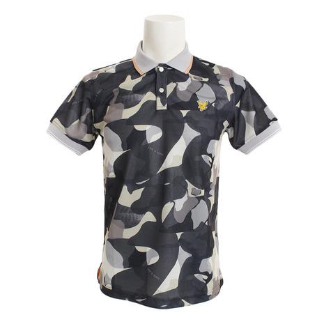 ライルアンドスコット(LYLE&SCOTT) ゴルフウェア メンズ 半袖ポロシャツ LG-18S-P07-BLACK (Men's)