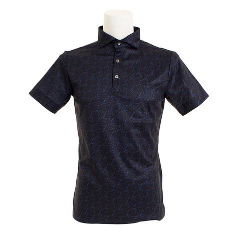 セントアンドリュース(ST.ANDREWS) White Label COOL STAプリントシャツ 042-9160457-120 (Men's)