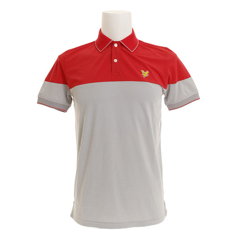 ライルアンドスコット(LYLE&SCOTT) 半袖ポロシャツ LG-18S-P06-GREY (Men's)