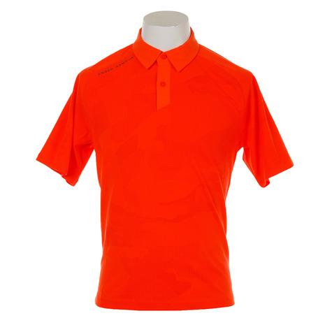 アンダーアーマー(UNDER ARMOUR) Threadborne Sprocket Polo #1317331 MOH/RGY GO メンズ 半袖ポロシャツ (Men's)