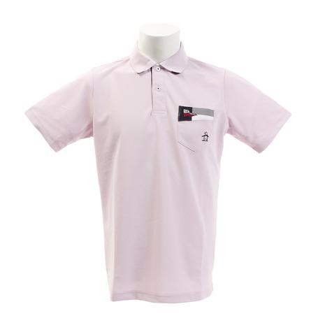 マンシングウエア(MUNSING WEAR) ゴルフウェア メンズ クーリスト半袖シャツ MGMNJA09-PK00 (Men's)