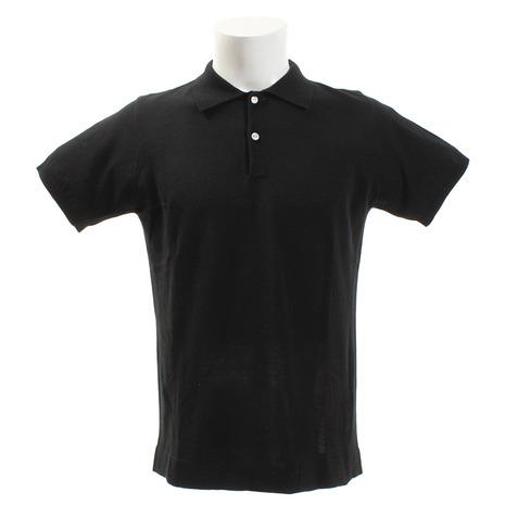 ホンマゴルフ(HONMA) 半袖ニットシャツ 931-731109BK (Men's)