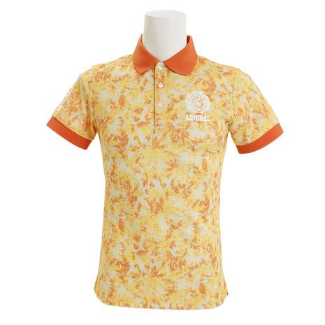 アドミラル(Admiral) 迷彩ヤシの木 ポロシャツ ADMA851-ORGメンズ 半袖 (Men's)
