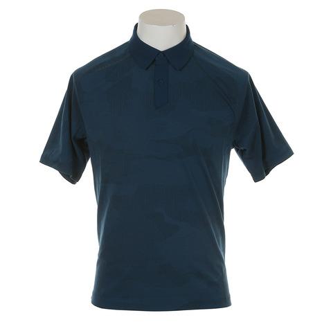 アンダーアーマー(UNDER ARMOUR) Threadborne Sprocket Polo #1317331 TCT/RGY GO メンズ 半袖ポロシャツ (Men's)