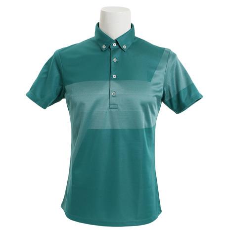テーラーメイド(TAYLORMADE) ストレッチ テーラード グラフィック半袖ポロシャツ KL897-N64896 (Men's)