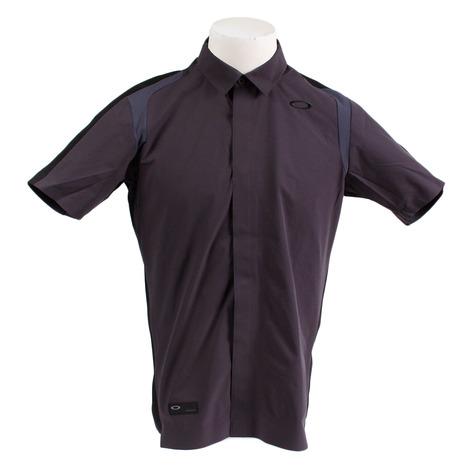 オークリー(OAKLEY) ゴルフウェア メンズ SKULL SYNCHRO 半袖シャツ 401920JP-00N (Men's)