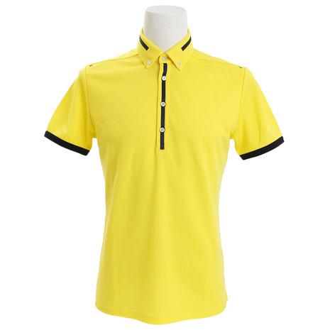 テーラーメイド(TAYLORMADE) ブレスウールボタンダウン ポロシャツ KL898-N64900 (Men's)