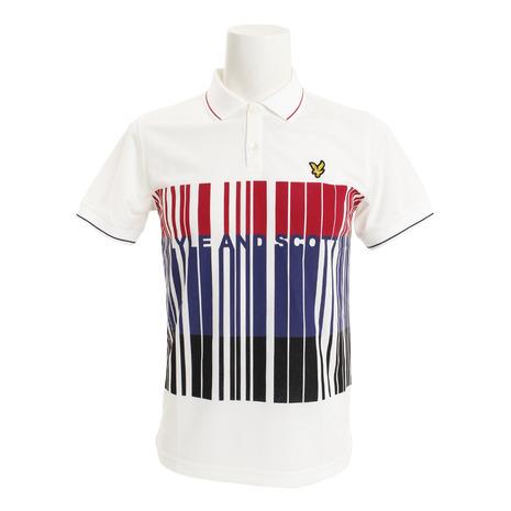 ライルアンドスコット(LYLE&SCOTT) 半袖ポロシャツ LG-18S-P02-WHITE (Men's)