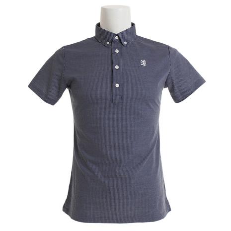 アドミラル(Admiral) ゴルフウェア メンズ ストライプ BDシャツ BDシャツ メンズ ADMA930-NVY ADMA930-NVY (Men's), MKcollection:a724ee5b --- sunward.msk.ru