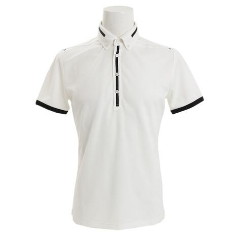 テーラーメイド(TAYLORMADE) ブレスウールボタンダウン ポロシャツ KL898-N64897 (Men's)