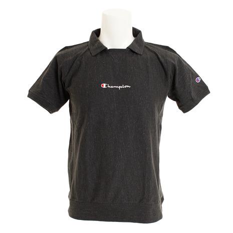 チャンピオン(CHAMPION) ゴルフウェア メンズ リバースウィーブ ガゼットポロシャツ C3-PG312 090 (Men's)