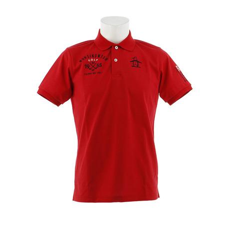 マンシングウエア(MUNSING (Men's) WEAR) ゴルフウェア メンズ ゴルフウェア 胸ロゴサンスクリーン半袖シャツ MGMNJA12-RD00 WEAR) (Men's), ダンボールの横井パッケージ:adb04994 --- sunward.msk.ru